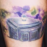 Tardis Tattoo: Doctor Who by Zekira
