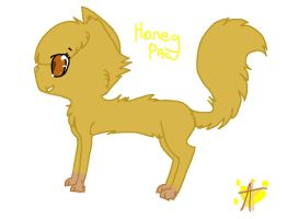 Honeypaw by KatWolfKid