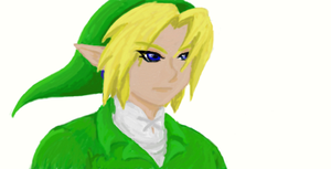 Link - coloured by Mirria1