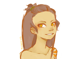 Maya doodle by McSauces13