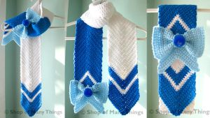 Sailor Mercury Scarf by CrafterOfManyThings