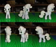 Sweetie Belle Finished Sculpt by OtakuSquirrel