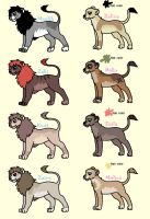 Lion Breeders. by MichelsAdoptions