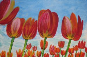 lollypop tulips by juliarita