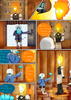 Sansby: The Date (pg. 1) by ShadowWolf6785