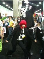 Anime Expo 2012 Sprit and Lord Death by Fainting-Ostrich