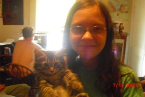 Me and Fuzzball by Neenagirl2220
