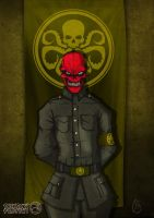 Marvel's Red Skull by grohman