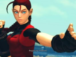 Claire Redfield Cammy v1.1 by Hornyyoshi