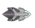 Possible ship design -Colab by Crescent-S-Moon