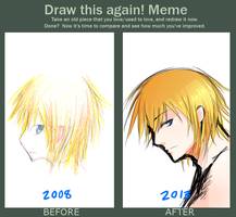 Draw This Again Meme by Lollyst