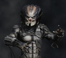 Predator - 3D Model Progress 3 by FoxHound1984