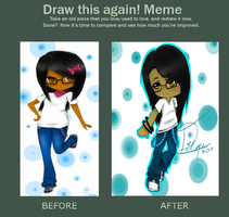 Before and After Meme by Di-Cape