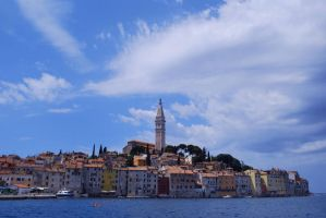 Rovinj - old city by ReneHaan