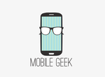 Geek logo by andreafilisitosovna