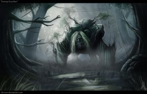 Swamp Guardian by OH-EREN