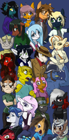The community of TumblrPon by Oscar-is-Happy