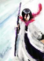 Capitain Rukia Kuchki by IRCSS