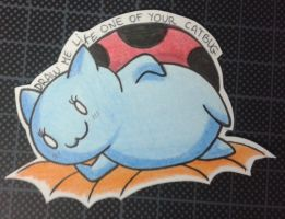French Catbug ! by HokinaCosplay