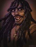 Rick James by EddieHolly