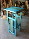 Arts and Craft style Plant Stand by JohnTheWarlord