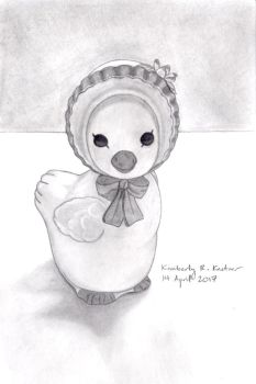 Duck Figurine by LuckyNumber113