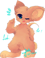 a mouse by mouse-draw by FishOuO