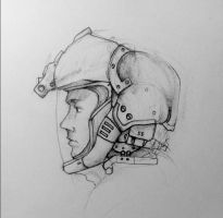Flight Helmet Concept by Masque-De-Mort