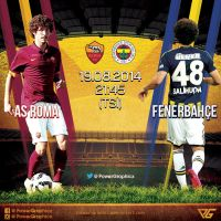 AS Roma - Fenerbahce Hazirlik Maci by Power-Graphic