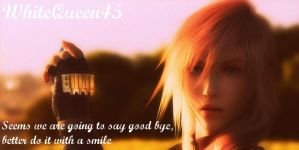 Say goodbye and Smile by WhiteQueen45