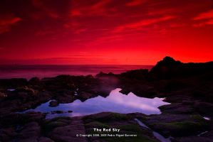The Red Sky by too-much4you