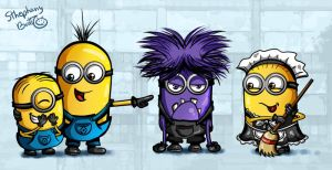 Minions by sthephanymel