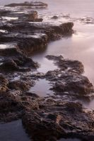 Surreal rocks and misty waves by litecreations