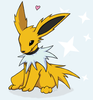 Commission - Jolteon by ShinyVulpix