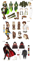 [RTAH] MC: Team Lads Outfits by Riccasze