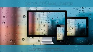 Droplets Wallpaper by TtsNiss