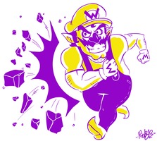 Bro Wario by MetaKnuckles
