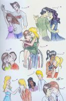Glee- Season 2 Couples by Silverlily909