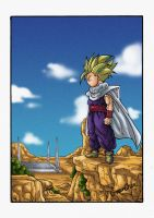 Ssj2 Gohan Cell Game by GreenChen