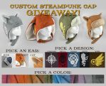 Custom Steampunk Cap Giveaway [Closed] by ShoriAmeshiko