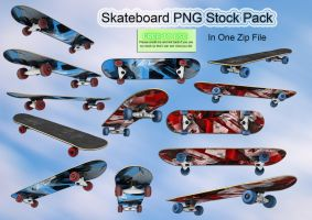 Skateboard PNG Stock by Jumpfer-Stock