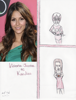 Victoria Justice as Kandice by Jred20