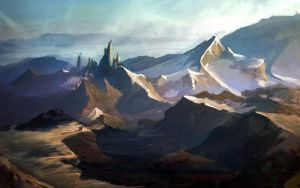 Mountainscape by pokepetter