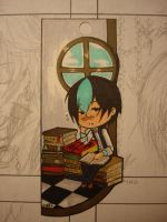 bookMark - Sleepy Aiedail by Lilblkrose