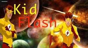 Young Justice-Kid Flash by camacam11