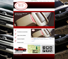 Web Design for MS Rent a Car by GuitarreroM