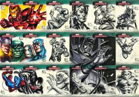 Marvel Masterpieces 3 233-250 by ronsalas