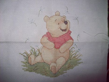Summertime Pooh by Miskumi