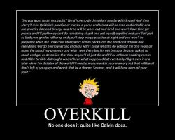 Overkill by KittyEden