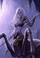 Spider Demoness - detail by namesjames